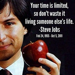 steve jobs inspirational quote just sayin pinterest