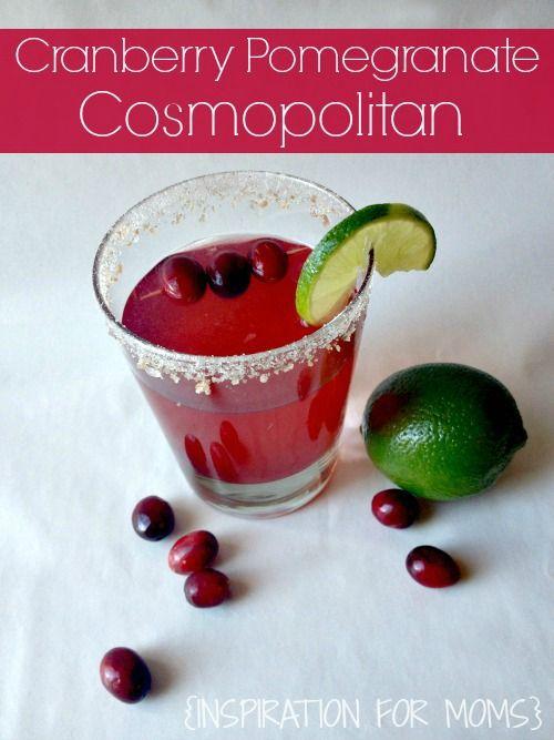 Cranberry Pomegranate Cosmopolitan Recipe - Live Creatively Inspired