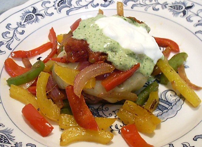 FaJita Burger... Low in Carb | Healthy and Weight Watcher... | Pinter ...
