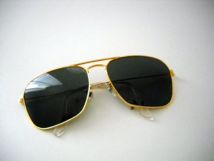vintage 1950s rayban caravans mad men style sunglasses