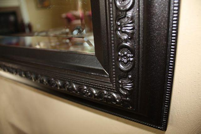 paint mirror with rust oleum 39 s universal metallic spray paint need to. Black Bedroom Furniture Sets. Home Design Ideas