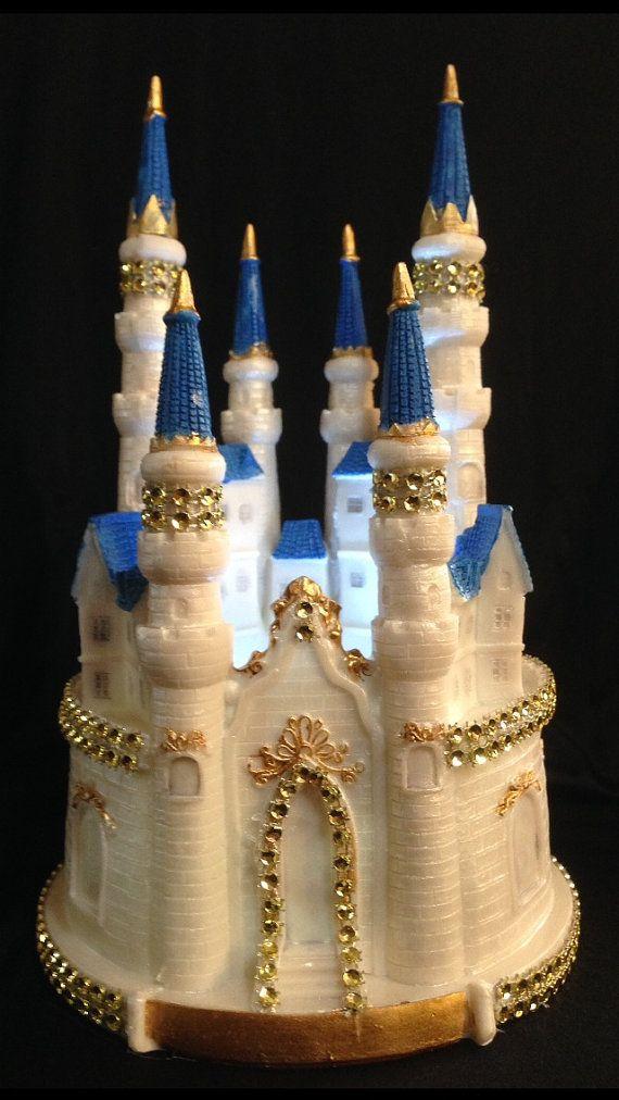 how to make a cinderella castle cake