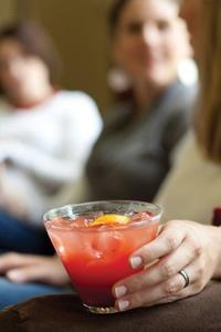 Blood Orange Tonic Waters from Sandra Lee Semi-Homemade