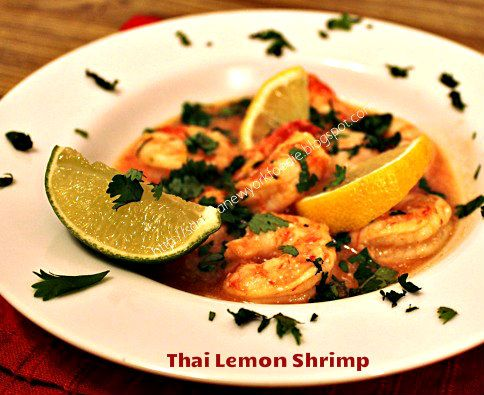 Thai Lemon Shrimp - A New York Foodie | Gluttons for Punishment | Pin ...