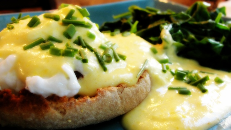 Eggs Benedict with Spinach: 1 protein – 2 vegetables – 1 starch