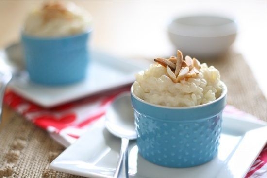 Almond Vanilla Bean Rice Pudding... gluten-free, sugar-free and low ...