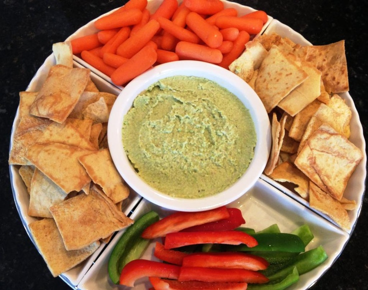 White Bean and Edamame Hummus | Lex's Life as a New Wife | Pinterest