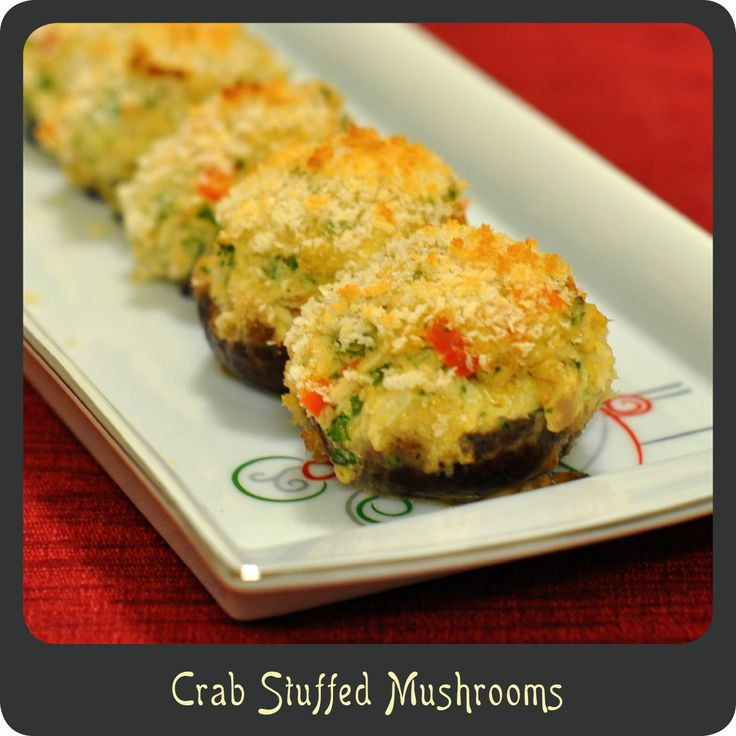 Recipe—Crab Stuffed Mushrooms | Favorite Places and Spaces ...