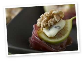 Fig and Walnut Amuse-Bouche | Appetizer | Pinterest