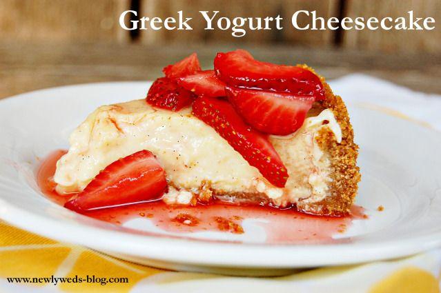 Greek Yogurt Cheesecake | Products I Love | Pinterest