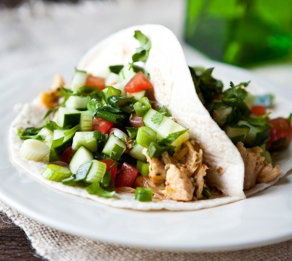 Thai Chicken Tacos whats-for-dinner | Edibles | Pinterest