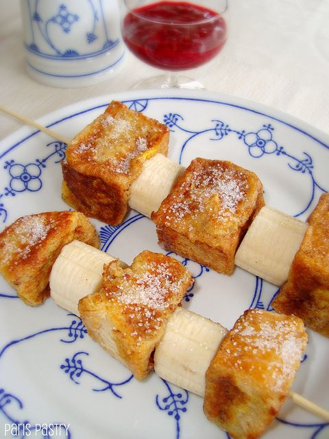 French Toast Kebabs | yummy in my tummy | Pinterest