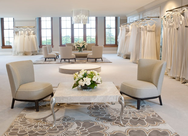 The stunning new bridal section at David Jones Sydney! How luxurious.