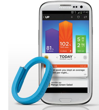 Jawbone Up is now out for Android! Great way to start getting that prepartum body back. (A little. Kinda.)