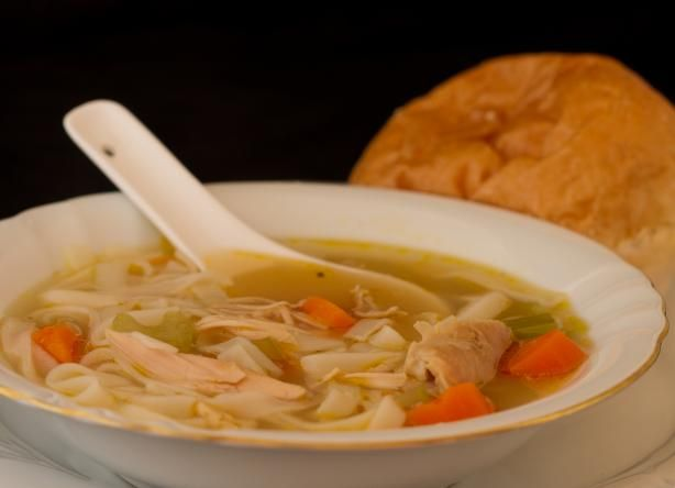Left Over Chicken Carcass Soup Recipe