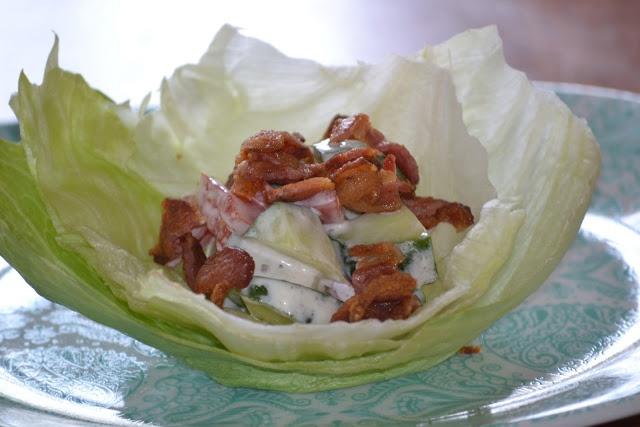 Ranch BLT C Lettuce Wraps | EAT & DRINK | Pinterest
