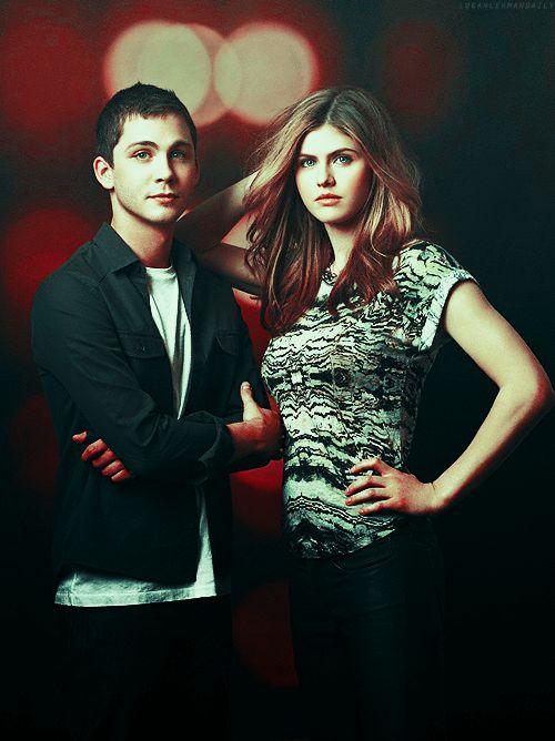 Logan Lerman and Alexandra Daddario are they together