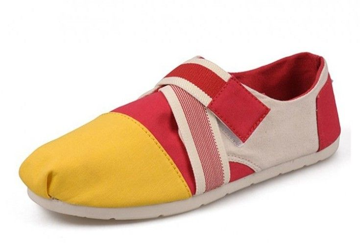 2014 New Arrival Toms Low-top Women Red shoes