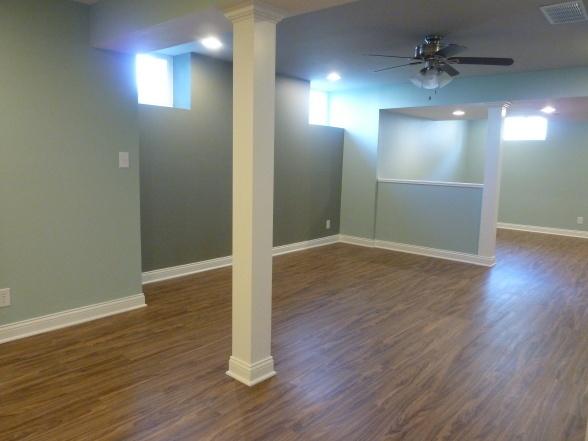 support beam covering basement remodel pinterest
