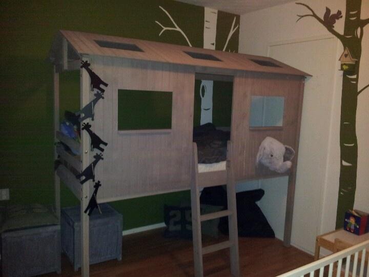 slaapkamer peuter inrichten : Kamer jongen Jongens kamer Pinterest