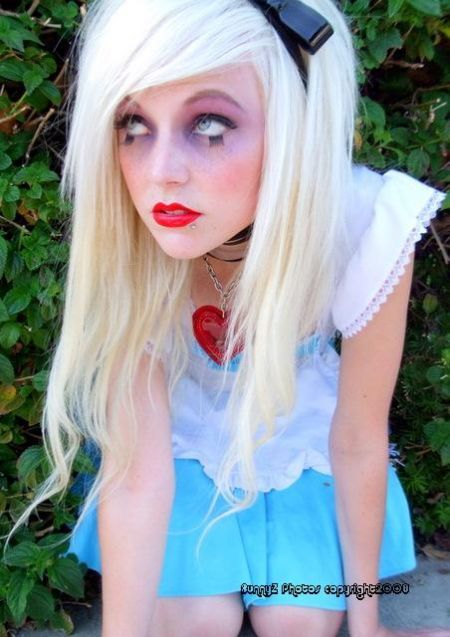 Alice in Wonderland for Adults ~ makeup!