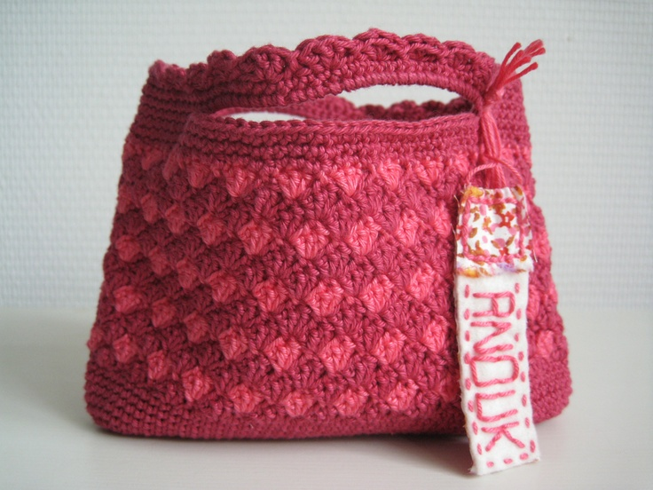 crochet bag for little girl Crochet Pinterest