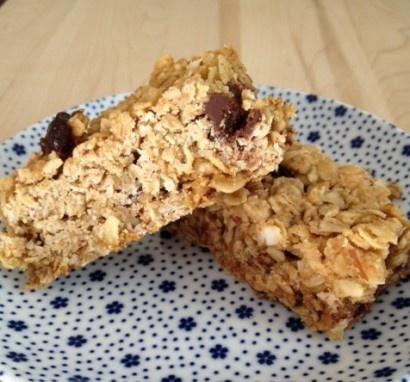 Cherry Chocolate Almond Granola Bars   Recipe