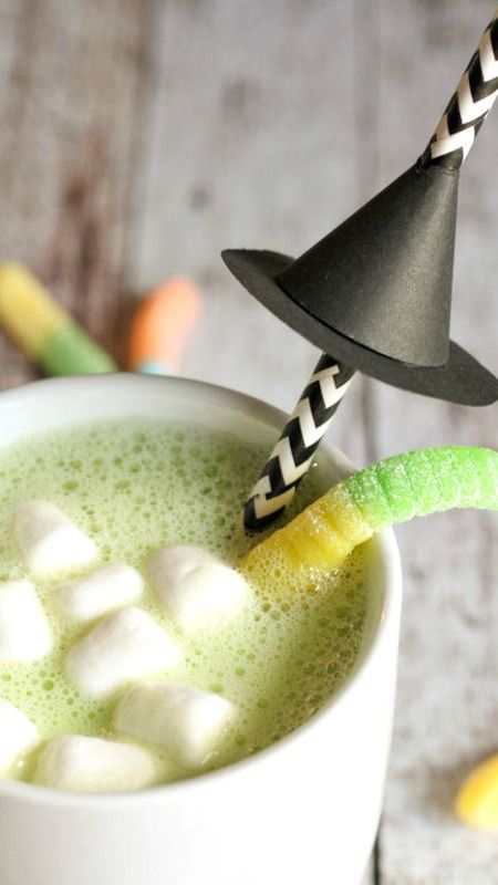Halloween Hot Cocoa Recipe ~ warm and delicious... Plus a link to the ...