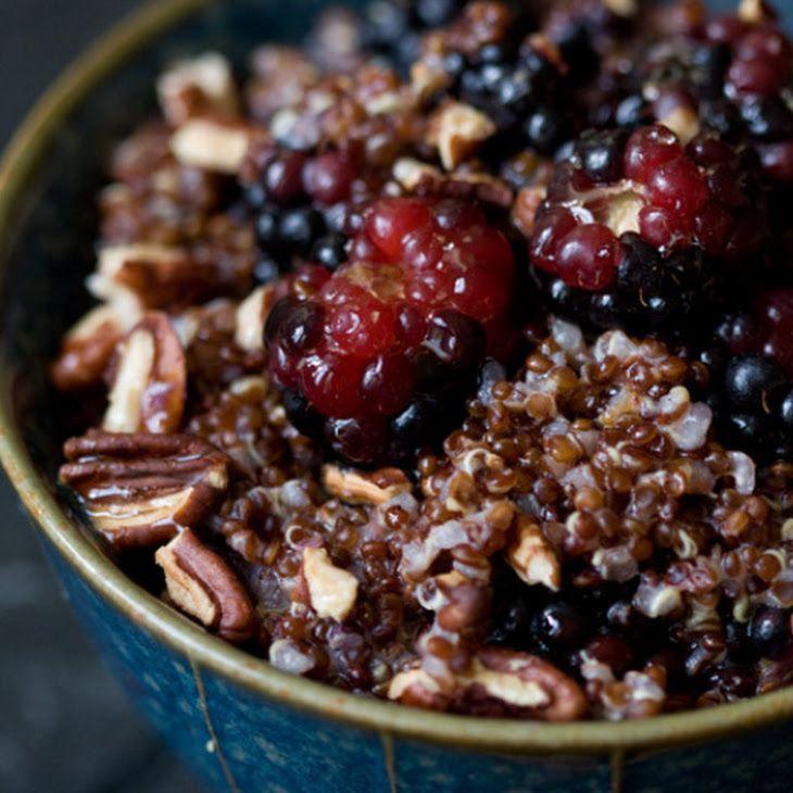 Warm and Nutty Cinnamon Quinoa | Yummy, Yummy, Food in my Tummy | Pin ...