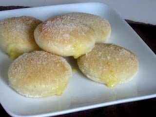 Margarita Doughnuts - filled with margarita curd (lime and tequila ...