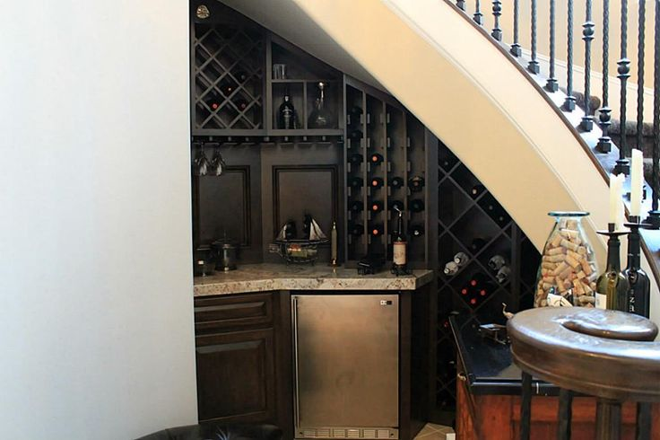 Under The Stairs Wet Bar Ideas For My Home Pinterest