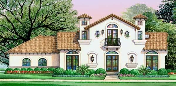 Luxury Mediterranean House Plan Architecture I Like Pinterest