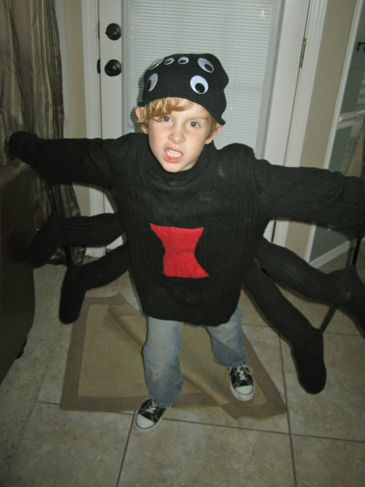 Black widow costume for kids spider