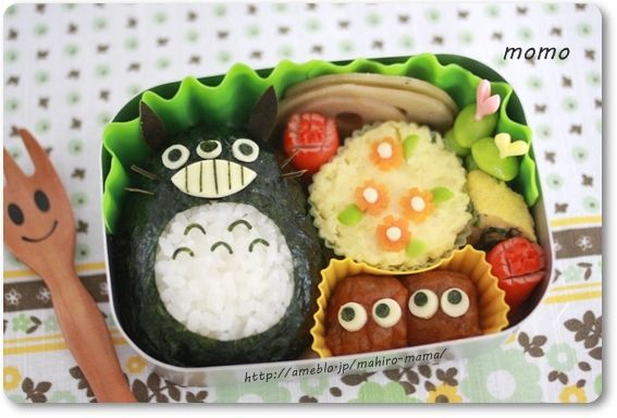 Tottoro Rice Ball Bento Box Recipe