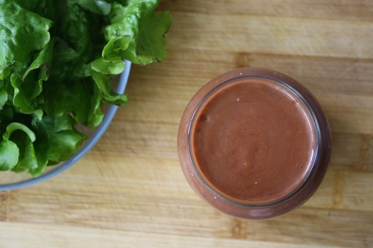 Roasted Strawberry Balsamic Vinaigrette