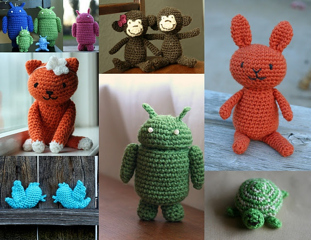 Amigurumi: How to sew Together Knit and Crochet Pinterest