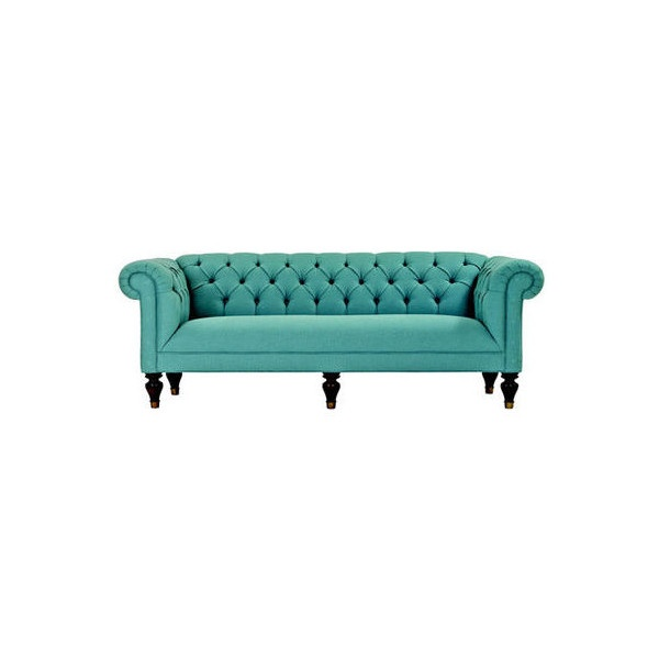 Turquoise sofa want need must have for the home pinterest - Turquoise sofa ...