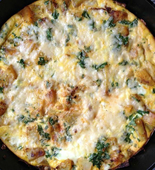 Recipe For Egg and Potato Frittata