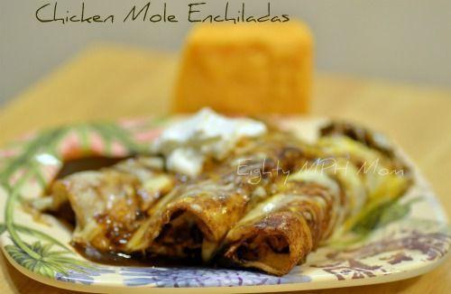 Chicken Mole Enchiladas   Favorite Recipes   Pinterest