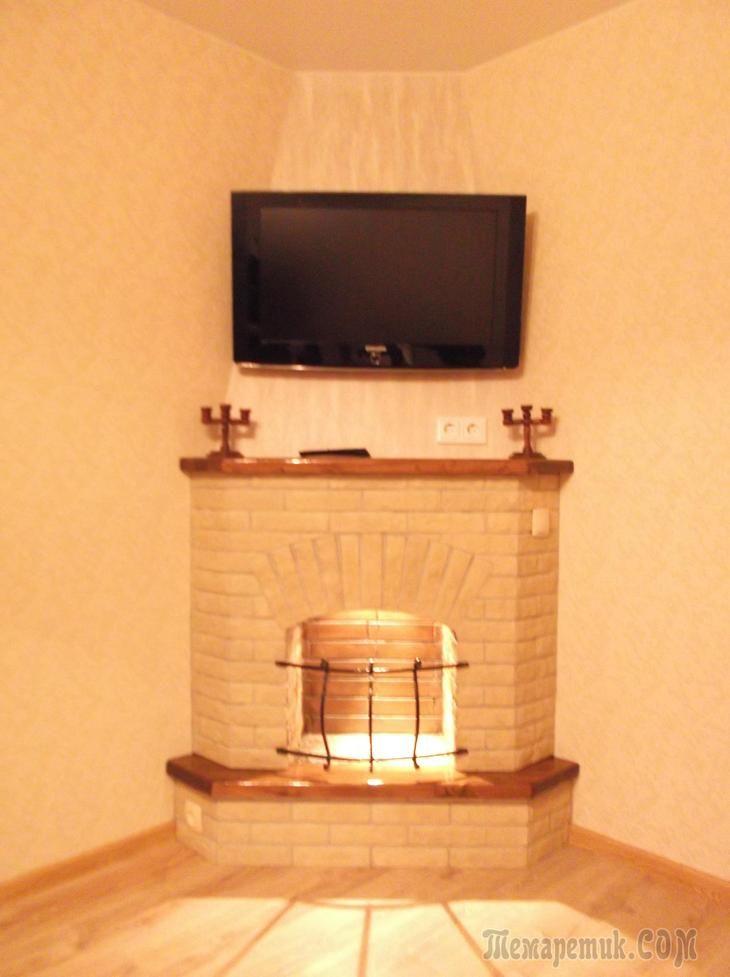 Камин пошаговая инструкция в квартире