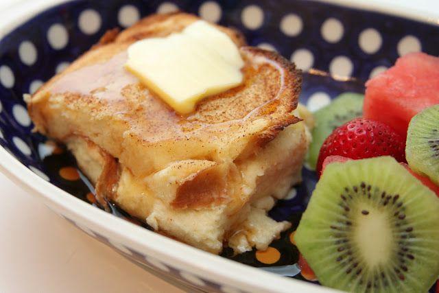 gingersnaps: boozy baked french toast | Breakfast;) | Pinterest