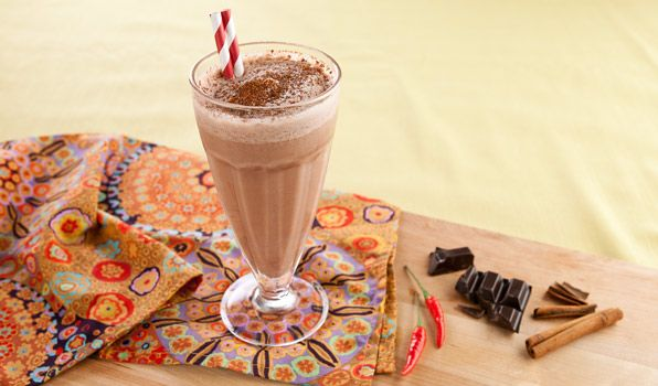 Mexican Chocolate Shake | Recipe
