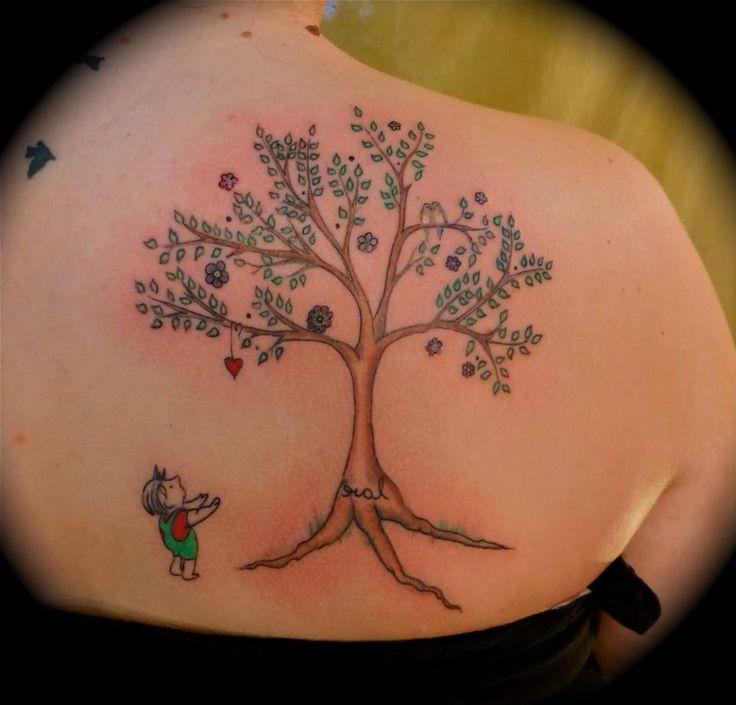 top burning tree tattoo images for pinterest tattoos. Black Bedroom Furniture Sets. Home Design Ideas