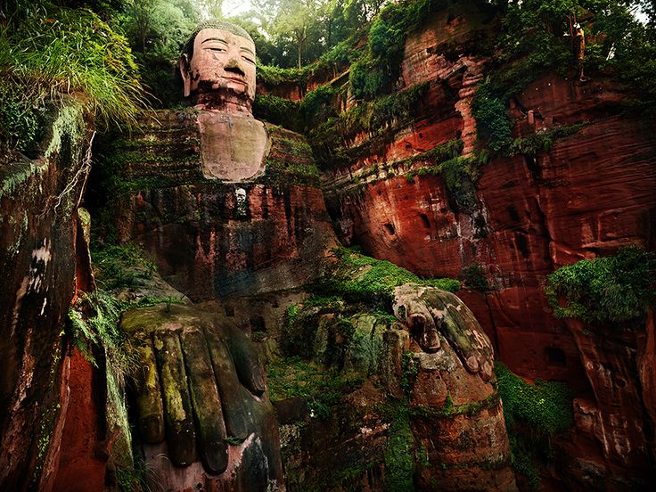Image result for Mount Emei Scenic Area: Leshan Giant Buddha, China