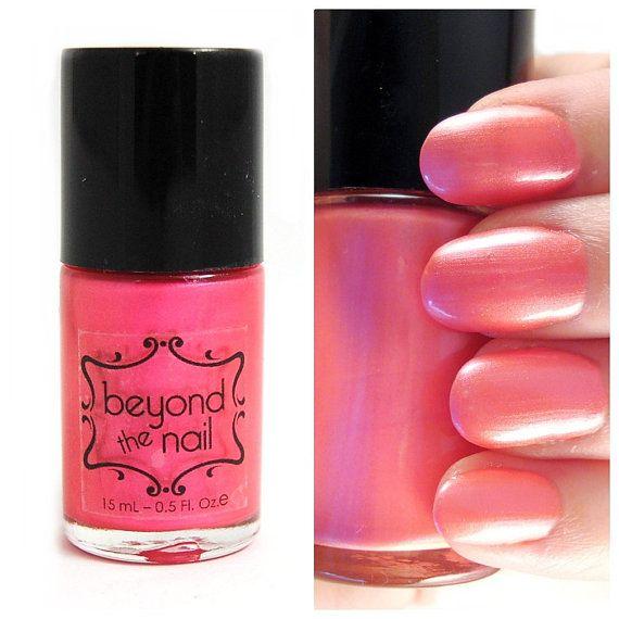 Pearl Nail Polish: Pink Pearl Nail Polish