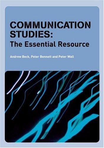 Books about communication studies graduate