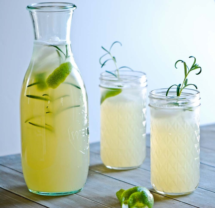 Rosemary Limeade 1 cup lime juice (from 6-8 limes) 3/4 cup sugar 5 ...
