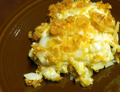 Aunt Nubby's Kitchen: Hash Brown Potato Casserole - this looks yummy ...