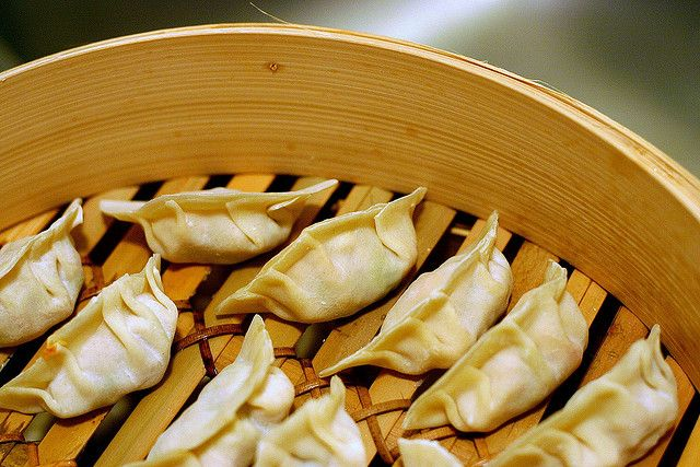 vegetable dumplings by smitten kitchen so good. but try to get round ...