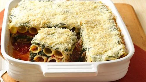 Layered Rigatoni Bake | Food...Yum! | Pinterest